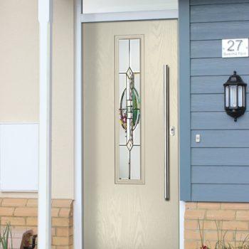Inox York Composite Doors Selby